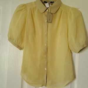 NWT Womens Sheer Blouse (Perfect for Spring)